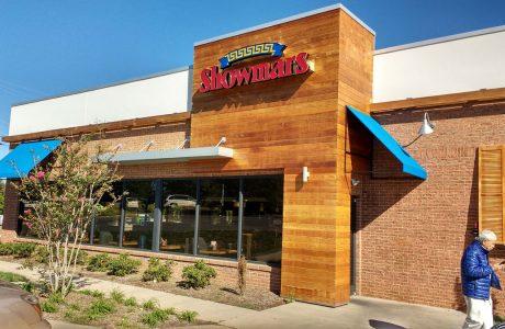 uplift of showmars restaurant renovation
